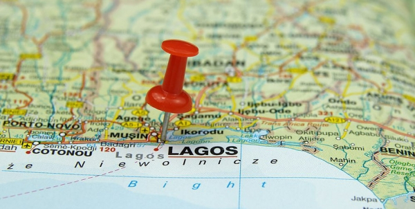 Lagos, Nigeria Map
